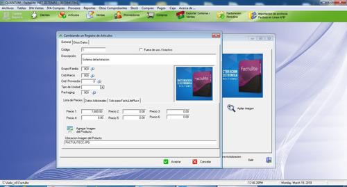 software factura electronica, y de credito
