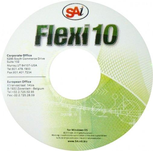 Software Flexi Starter 10 Para Plotter Original