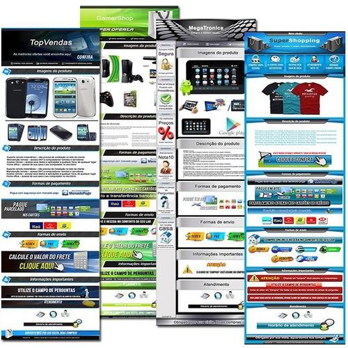 software generador de plantillas html para mercadolibre