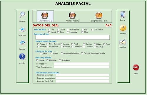 software gestión salones de belleza estéticas spa peluquería