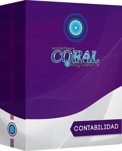 software gestion sistema contabilidad windows linux coral