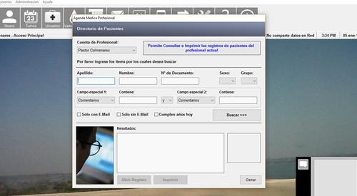 software historias clínicas, médicas y odontológicas