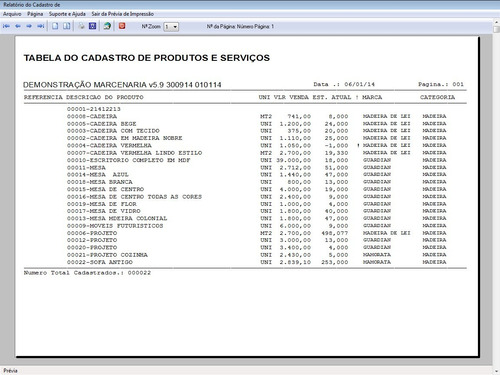 software marcenaria vendas e financeiro v5.9 plus fpqsystem