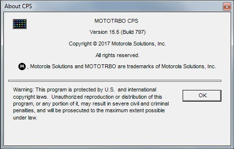 Software Motorola Dep450 Digital Mototrbo Cps 16,0 Build 823