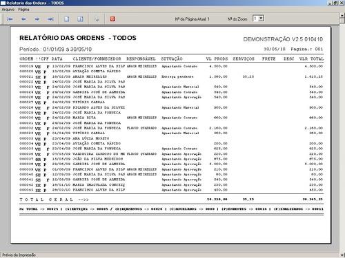 software ordem de serviço gráfica rápida v2.5 - fpqsystem