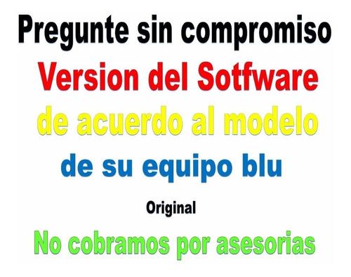 software original blu advance 5.0 d030ux v3 / v4