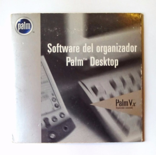 software original cd para palm vx usado en perfecto estado