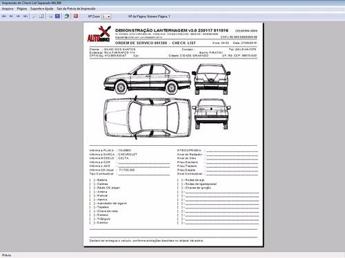 software os lanternagem, funilaria + vendas v3.0 fpqsystem