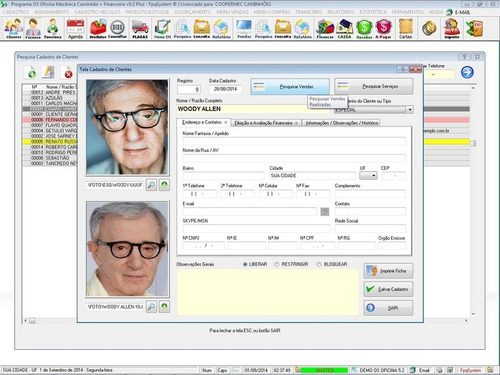 software os oficina caminhão + check list  v5.2 - fpqsystem