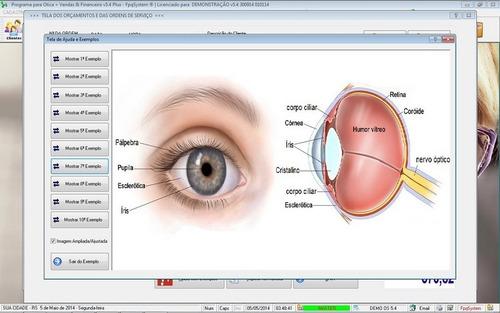 software ótica relojoalheria vendas financeiro 5.4 fpqsystem