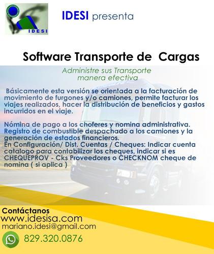 software para administración de transportes
