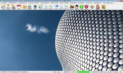 software para assistência técnica, vendas e financeiro v5.0
