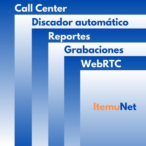 software para call center central telefónica