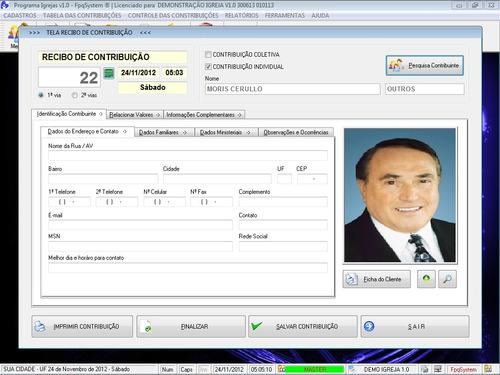 software para controlar e administrar igrejas v1.0 fpqsystem