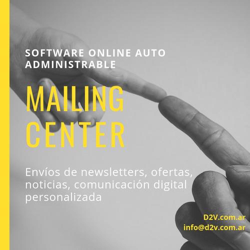 software para envío de emails masivos newsletter