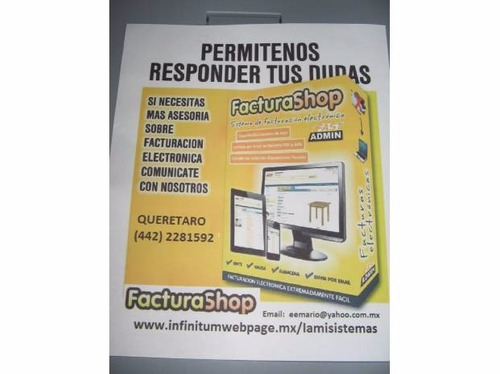 software para facturacion electronica via internet - maa