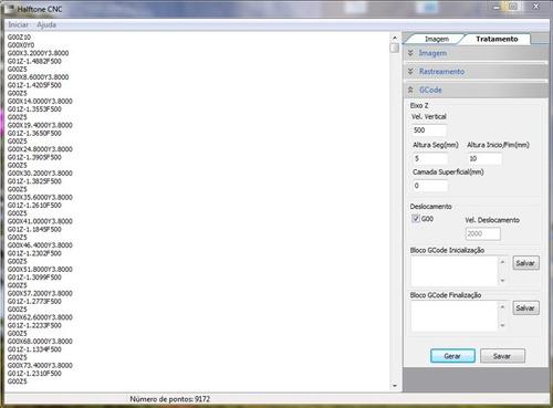 software para gravar imagens com cnc - fresa - router