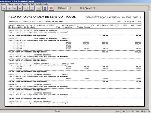 software para lava rápido com ordem de serviço 1.0 fpqsystem