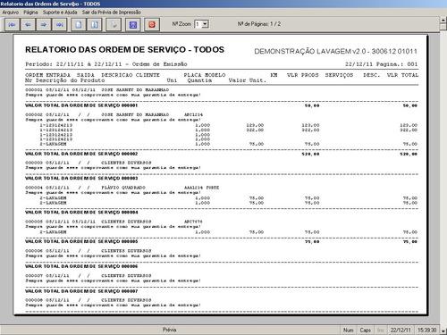 software para lavagem automotiva com financeiro v2.0