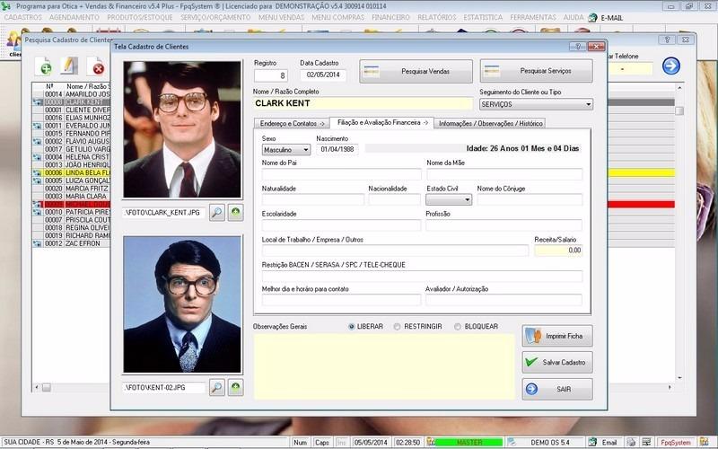 Software Para Ótica E Relojoalheria Vendas + Financeiro V5.4 - R ... 328a0642ee