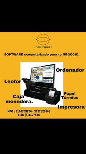 software para puntos de venta pos.