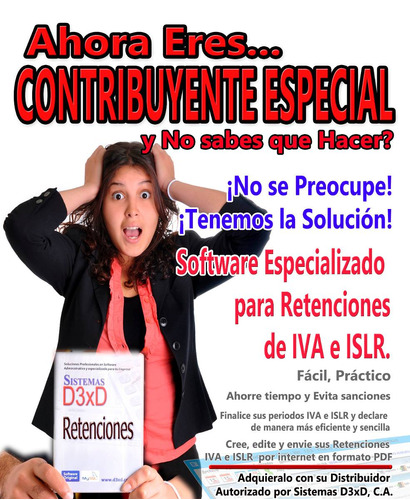 software para retenciones iva e islr contribuyentes especial
