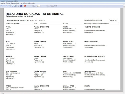 software petshop clinica veterinária + agendamento v4.0 plus