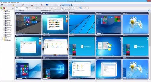 software programa de monitoreo empleados - computadoras