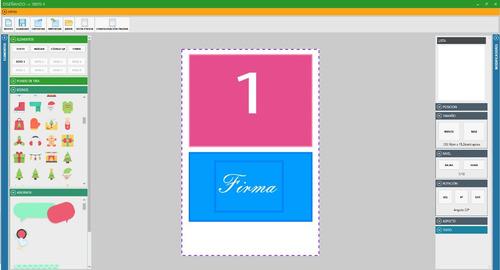 software programa foto  de cabinas version profesional