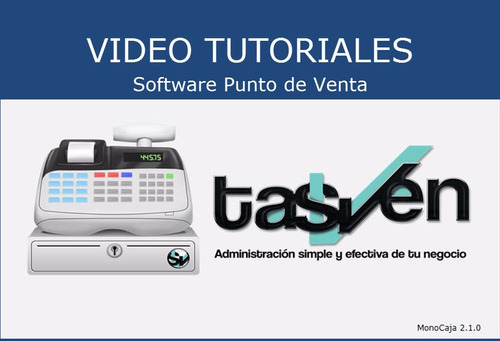 software punto de venta - abarrotes, papelerias- tasven