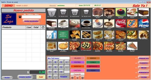 software restaurante pizzeria sushi restoran delivery bares