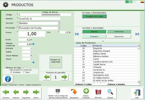 software sistema de facturación comercios
