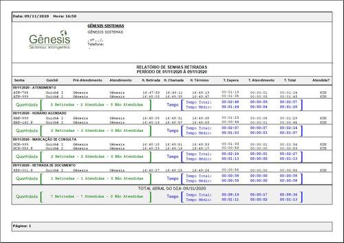software - sistema de retirada e chamada de senha