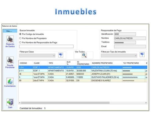 software sistema programa de cobranza para condominios
