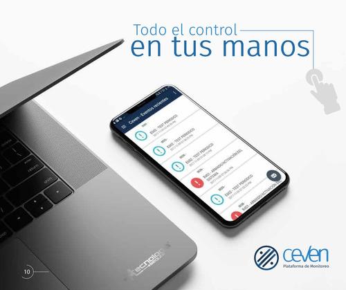 software web para centrales de monitoreo de alarmas