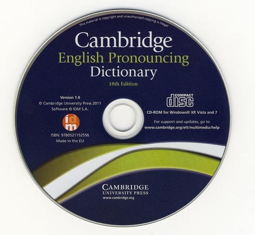 softwares diccionario de inglés || english dict. 18th ed