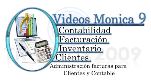 softwares monica 9 combo version completa + video original