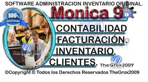 softwares monica 9 combo version completa + video original