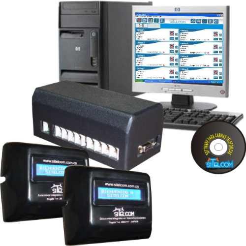 softwaretarificador para 3 cabinas telefonicas - plantas gsm