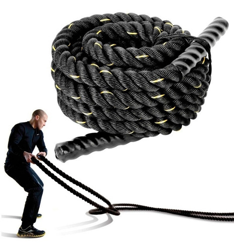 soga battle rope 38mmx10mts entrenamiento funcional crossfit