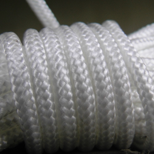 soga cuerda poliester 4 mm camping supervivencia multiuso - resistente intemperie - precio x metro