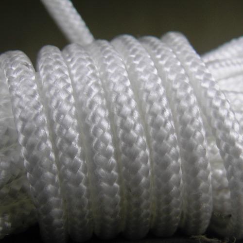 soga cuerda poliester trenzado 4 mm x 50 mts camping resiste