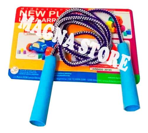 soga cuerda saltar juego new plast 3 a 12 años