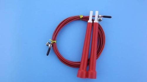 soga de saltar speed jump rope cable de acero regulable