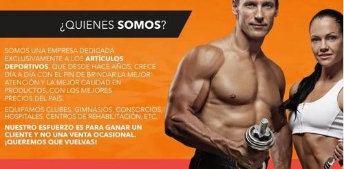 soga jalon para triceps topes reforzados accesorio polea gym