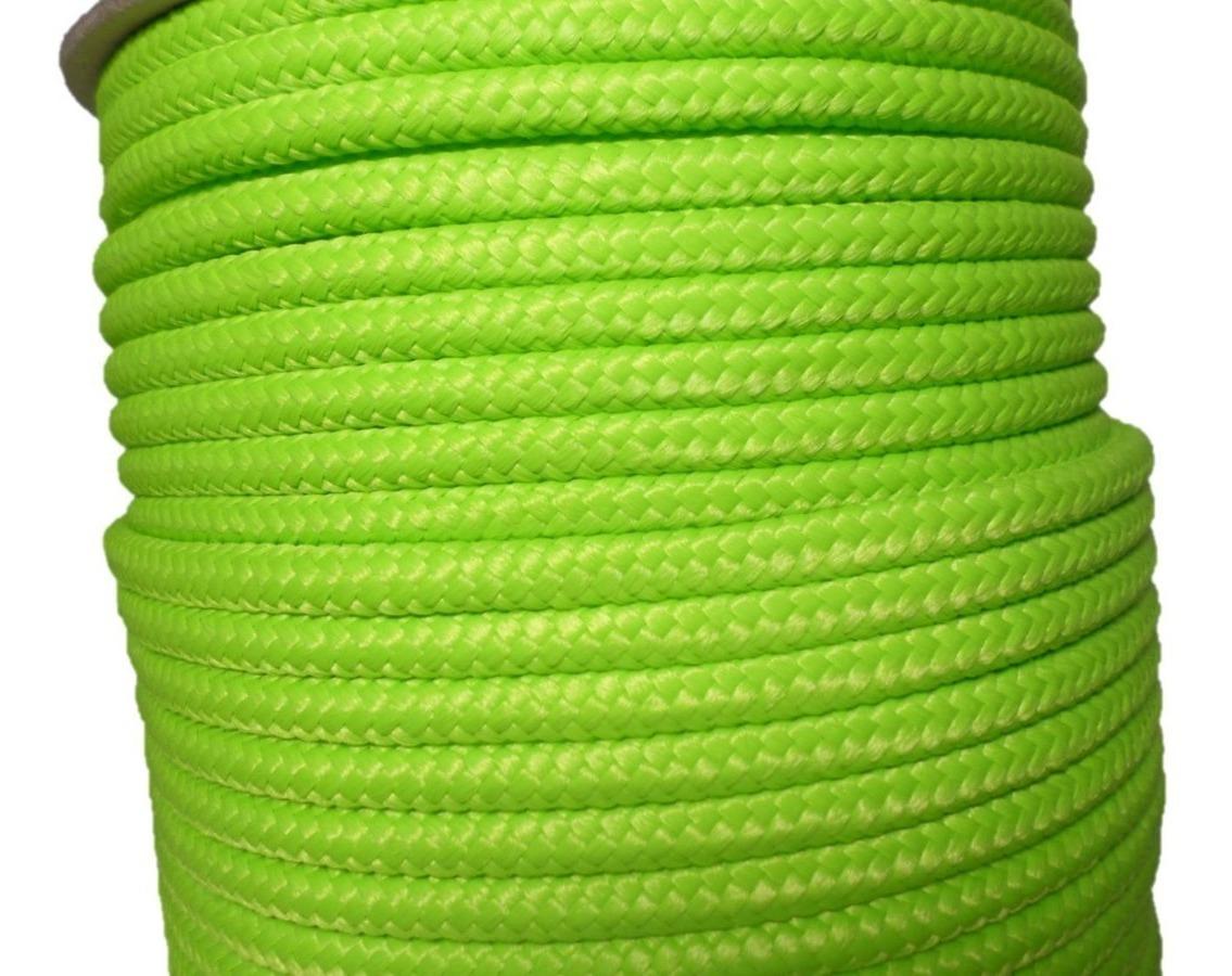 30 m rojo o amarillo verde azul negro varios tama/ños disponibles Blanco Cuerda de polipropileno de 6 mm; color blanco