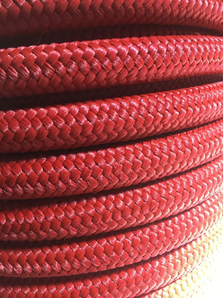 Cuerda de polipropileno de 6 mm; color blanco 50 m rojo o amarillo azul varios tama/ños disponibles negro verde azul