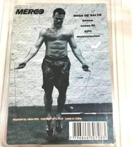 soga salto crossfit cuerda rapida speed rope merco fitness
