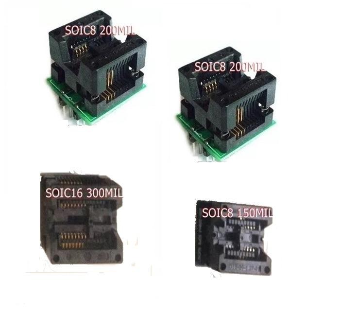 Soic8 150mil 2x200mil Soic16/8 300mil Ezp2010 Ch341a Tl866