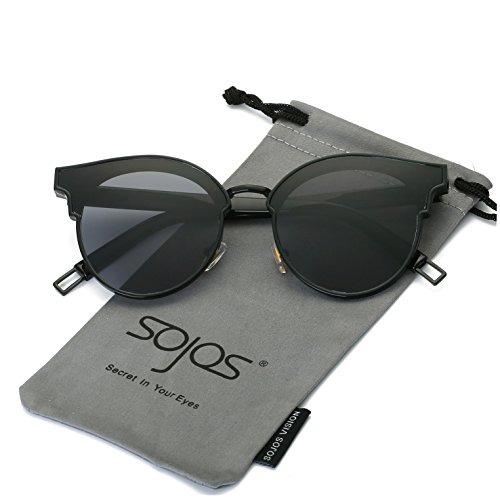 15407f0ca48b8 Sojos Fashion Cateye Gafas De Sol Para Mujer Lente Gran Angu ...